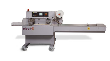 Electra flow pack machine